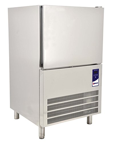 Omcan 41899 24' Stainless Steel 3 Trays 13' x 21' SS Blast Chiller Freezer Italy
