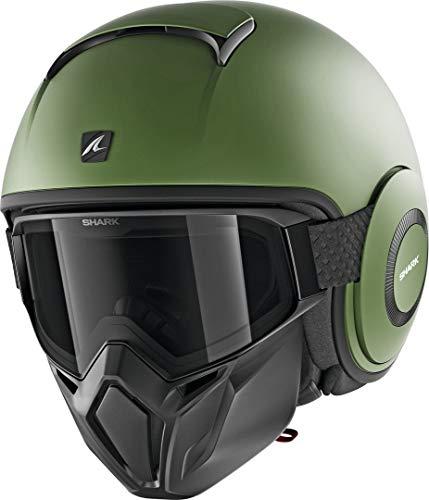 SHARK Unisex– Erwachsene NC Motorrad Helm, Grun, L