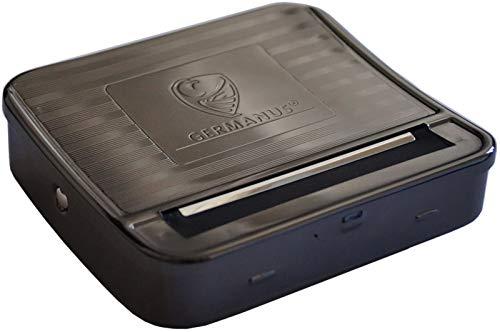 GERMANUS Zigaretten Rollbox Premium, Durchmesser 6-8 mm, Länge 70 mm, Rollmaschine, Stopfmaschine, Drehmaschine