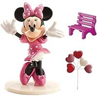 Dekora - Decoracion para Tartas con la Figura de Minnie Mouse de PVC