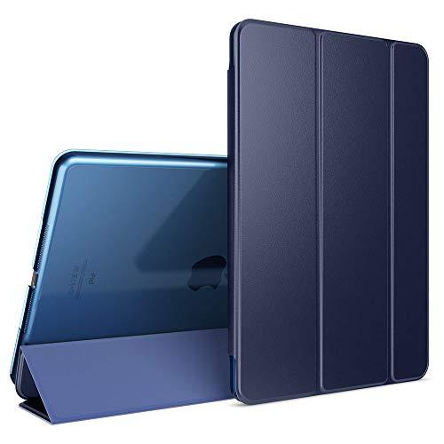 NALIA Custodia compatibile con iPad 2 3 4, Cover Ultra-Slim Smart-Case Protettiva con Stand-Fold Eco-Pelle Vegan Fronte, Tablet Bumper Sleeve Copertura Guscio Protezione Sottile, Colore:Blu Scuro
