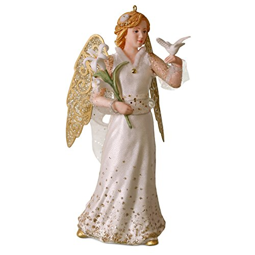 Hallmark Keepsake Christmas Ornament 2018 Year Dated, Christmas Angels Peace