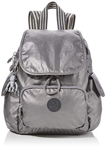 Kipling Damen City Pack Mini Rucksack Schwarz (Carbon Metallic)