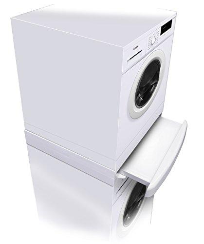 Sparegetti® - Kit de superposition pour lave-linge et sèche-linge - Pour tout appareil Samsung standard - Installation en sécurité et en toute confian