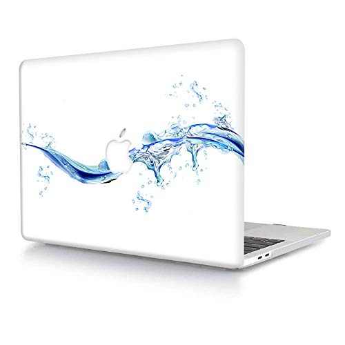 AJYX Funda para MacBook Pro (Retina, 13 Pulgadas,2015/2014/2013/2012) Modelo A1502/A1425,Plástico Protector Dura Carcasa Cubierta para MacBook Pro 13 Pulgadas - Gota de Agua