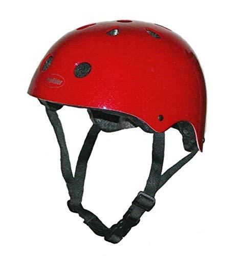 Pro-Rider-Classic-Bike-Skate-Helmet-Red-X-Small