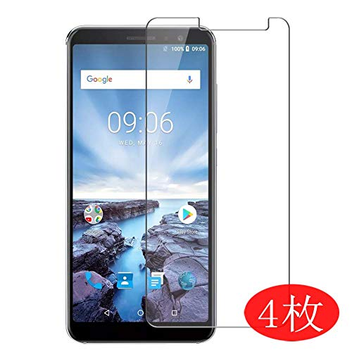 【4 Pack】 Synvy Screen Protector for UMIDIGI A1 Pro 0.14mm TPU Flexible HD Clear Case-Friendly Film Protective Protectors [Not Tempered Glass]