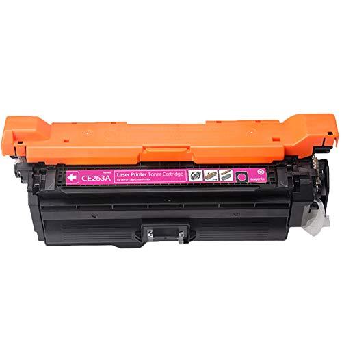 CE260A / CE261A / CE262A / CE263A tonercartridge, compatibel voor Color Laserjet CP4020 / 4025/4520/4525 tonerkleur multifunctionele laserprinter 4 sets kantoorbenodigdheden Goede compatibiliteit size Rood