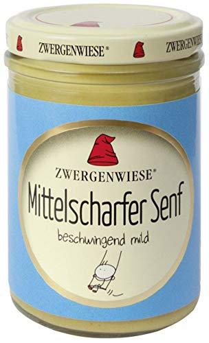 Zwergenwiese Bio Mittelscharfer Senf (2 x 160 ml)