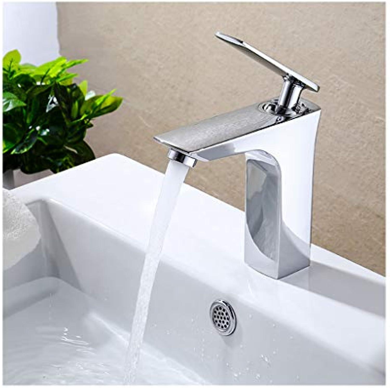 Yxx max Badezimmer Kupfer Waschbecken Wasserhahn Hei und Kalt Unter Theke Waschbecken Wasserhahn (Farbe   C)