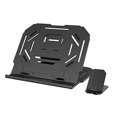 TYTG Accesorios para ordenador portátil 360 grados, soporte para portátil de diseño para niño-madre Accesorios para computadora (color negro)