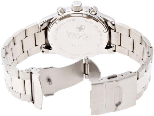 『[スイスミリタリー]SWISS MILITARY 腕時計 エレガントクロノ MILITARY-245 メンズ [正規輸入品]』の1枚目の画像