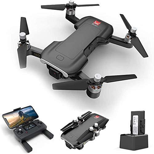 Drone con cámara, Mjx Bugs 7 B7 RC Drone con cámara 4K 5G Wifi Motor sin escobillas GPS Posicionamiento de flujo óptico Pista de vuelo RC Quadcopter (1 batería)