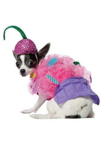 RASTA IMPOSTA Disfraz de pastelito para Perro - S