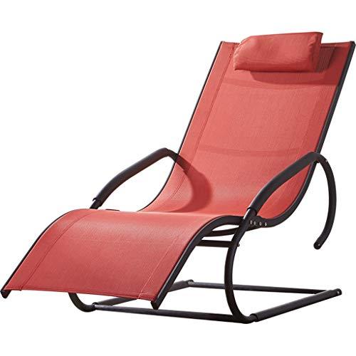 Chaise à Bascule Fauteuil inclinable à accoudoir Plus Grand pour Chaise Longue pour Utilisation à l'intérieur Fauteuil inclinable dans Le Salon de Jardin avec terrasse, Fauteuil Lounge avec gravité