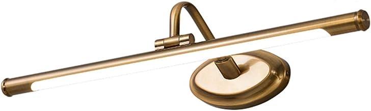 - Badkamerlamp Europese en Amerikaanse stijl luxe led-spiegel-koplamp, badkamer dresser make-up waterdichte mist vochtbest...