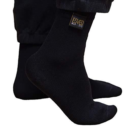ESVED Mest Socken Wasserdicht & atmungsaktiv - Wudu Erleichterung Socken Corap Socks Mesd Abdest Masd (L)