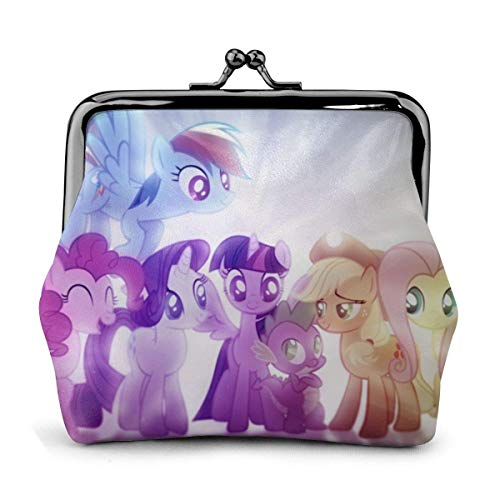 My Little Pony Coin Purse t Purses Credit Cards Pouch Lo Exquisite Bule Make Up Cellphone Change Women Leather Cash Coin Purses ts