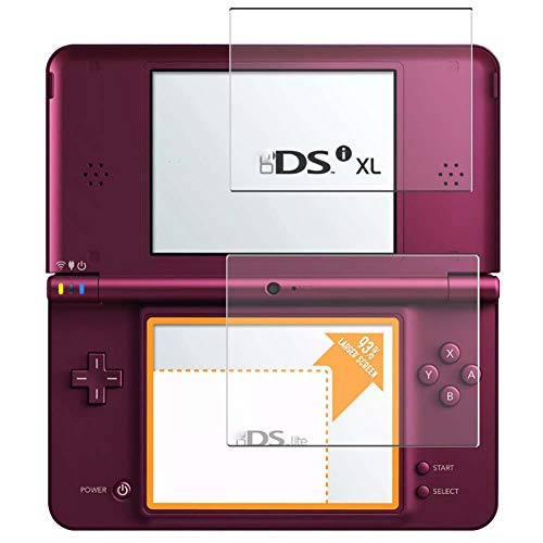 Vaxson 2 Unidades Protector de Pantalla Anti Luz Azul, compatible con Nintendo DSI XL [No Vidrio Templado] TPU Película Protectora