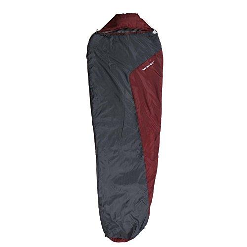10t Outdoor Equipment 10T Hatfield 800 Saco de dormir de la momia, Gris, Estándar