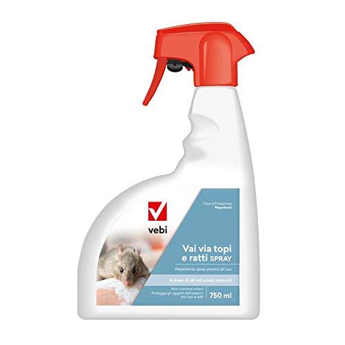 Vai Via Topi e ratti Spray Repellente