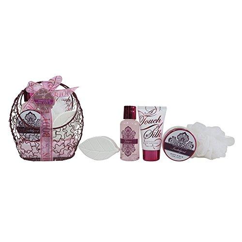 Coffret cadeau pour femme - pot de bain en métal rose - Collection Indulgente - Grenade