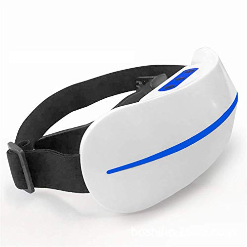 Intelligent Care Eye Massager, Portable Vision Recovery Eye Mask Myopia Corrector with 3D Mobile Optics and Pulsed microcurrent Therapy Stress Relief for Eye Care Best Gift