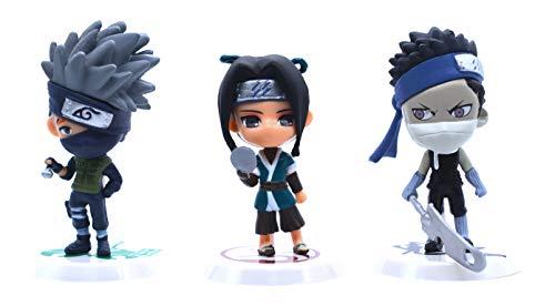 Anime Domain Set de Figuras en Forma de Personajes de Naruto 3
