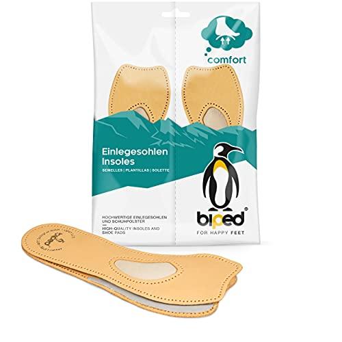 biped 4/5 komfortowa podpora z owczej skóry – wkładki ortopedyczne z podporą śródstopia do szpilek, butów na wysokim obcasie i balerin – prawdziwa skóra – samoprzylepne z2226(37)
