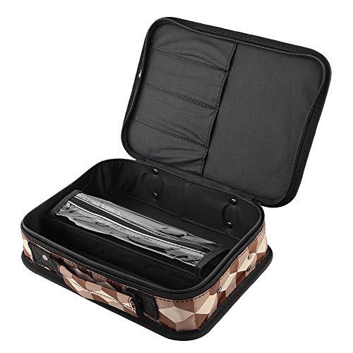 Bolsa para herramientas de peluquería de piel de alta calidad – Bolsa de herramientas de peluquería portátil bolsa de almacenamiento de herramientas de peluquería salón