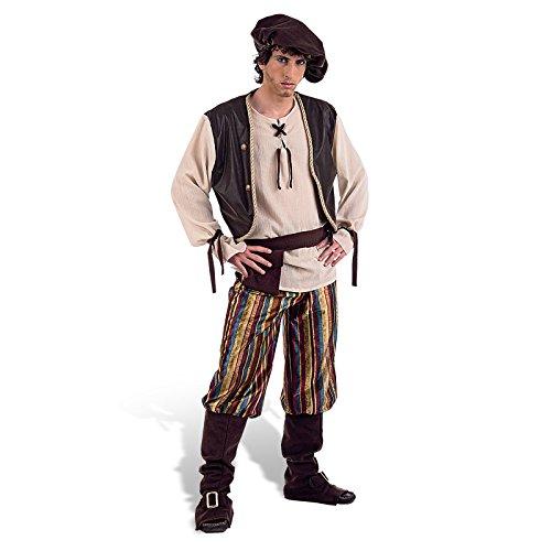 Limit Sport mittelalterlichen Wirt-Kostüm für Erwachsene, Gr. XL (MA856)