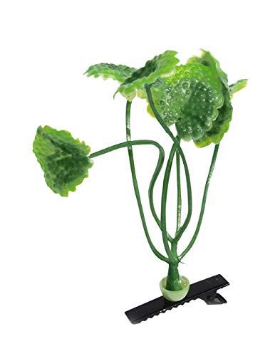 """'Plante Pinces à cheveux """"Le cresson – 4 set. Super Cool Trend Barrette à cheveux, Top Mode Trend en Asie, lustiger Green clip, tendance plantes Pince"""