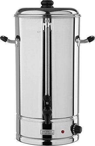 YATO Profi Gastro Wasserkocher 20 Liter 2500 Watt Edelstahl Teekocher Glühweinkocher Glühweinkessel Heißgetränkeautomat Teekocher Kafeekocher