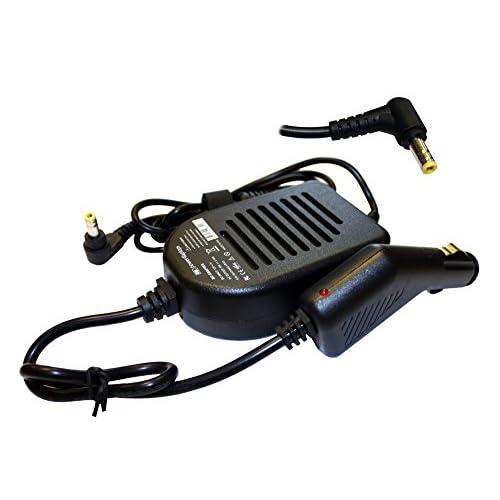 Power4Laptops Adattatore CC Auto Caricabatteria per Portatile Compatibile con Toshiba Satellite U840W-S415