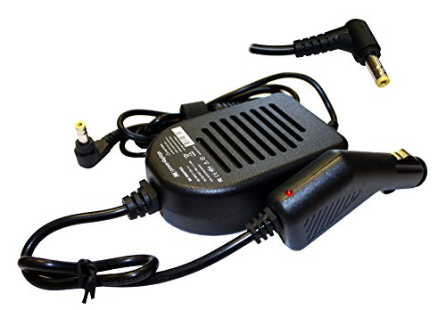 Power4Laptops DC Adapter Laptop Car Charger Compatible With Toshiba Satellite Radius P50W-BST2N22