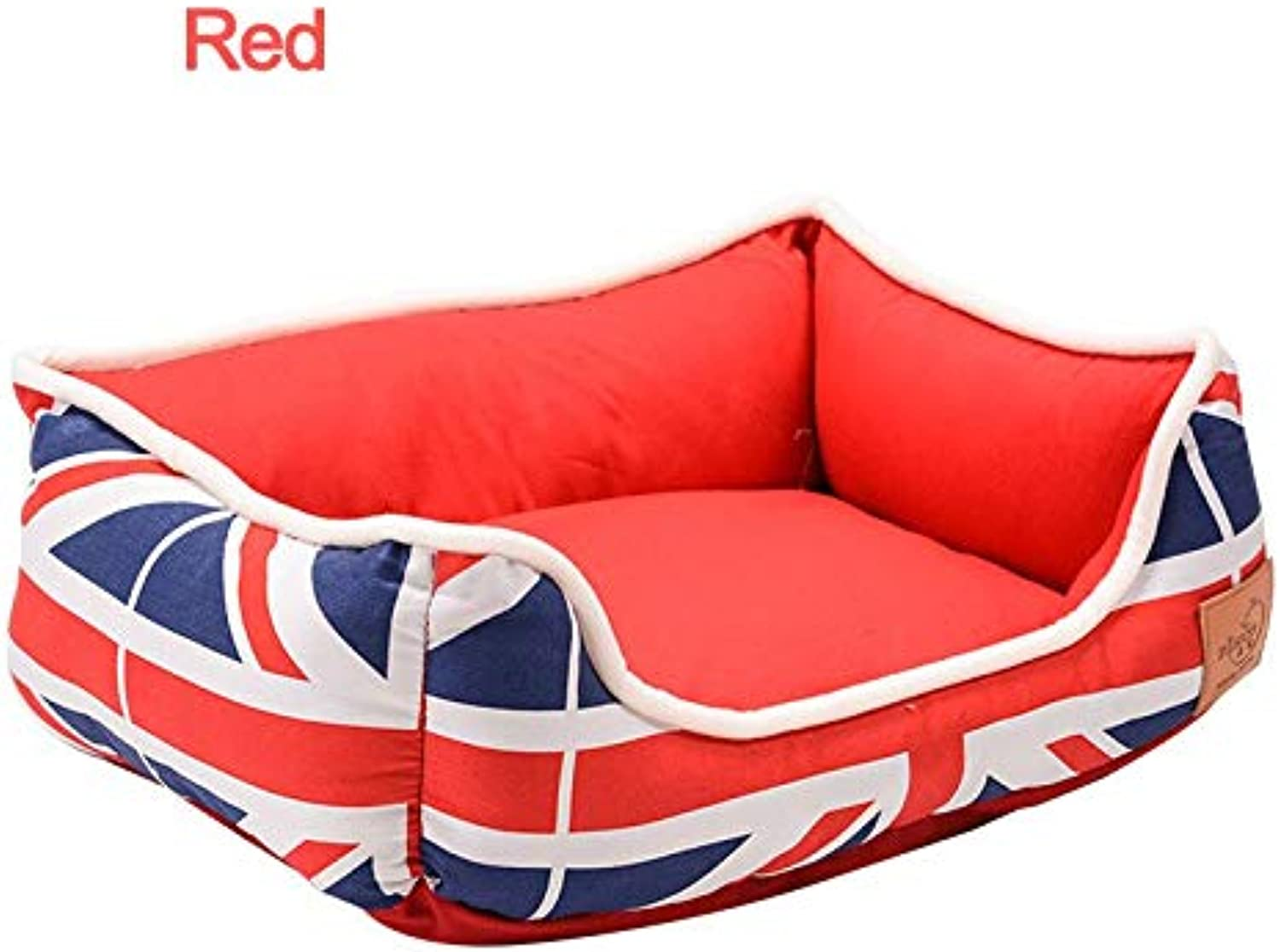 Aigou Dog Bed Soft Dog Bed Mat Kennels Detachable Warm Pet Beds For Animals Dog Beds For Small Medium Dogs Cat'S House Sofa Goods For Dogs