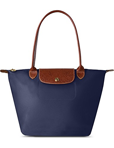 Longchamp Le Pliage Borsa shopper piccola, colore blu marina
