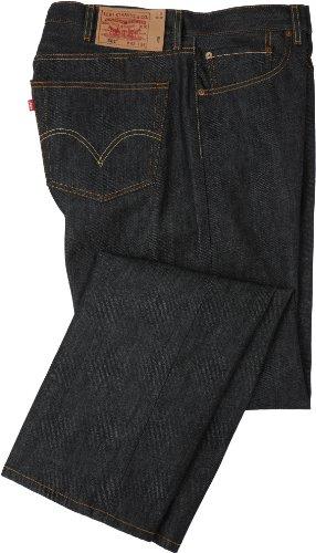 Levi's Herren 11501-0041 Jeans, Black STF-Big & Tall, 48W / 32L