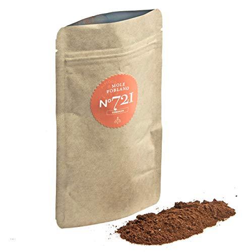 Mole Poblano N°721 | Großpackung 500g | pikante mexikanische Mischung für feine schokoladige Mole Sauce | mittlere Schärfe
