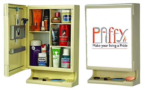 Buy Paffy New Look Bathroom Cabinet With Mirror Ivory 1 Year Warranty On Amazon Paisawapas Com