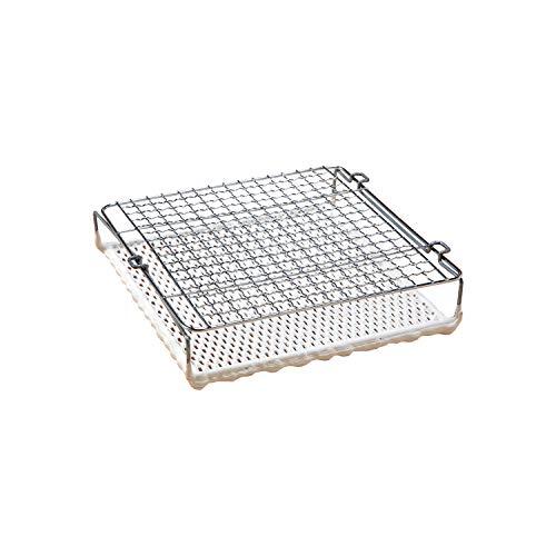 パンと野菜のセラミック網 焼きあみ 餅 トースト 遠赤外線効果 バーベキュー キャンプ アウトドア コンロでも使える 約23×22.5×5cm