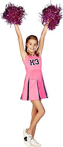 K3 Verkleedjurk - cheerleader 9-11 j.