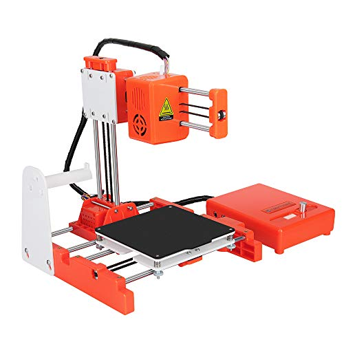3D Printer for Beginner 3D Printer for Kids Mini 3D Printer X2 DIY Kit 30W with Upgraded Removable Hot Magnetic Build Plate 1.75mm x 10m PLA Filament Printing Size up to 100x100x100mm