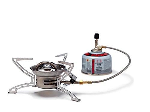 Primus Kocher Easyfuel II Duo mit Piezozündung, Silber, One Size