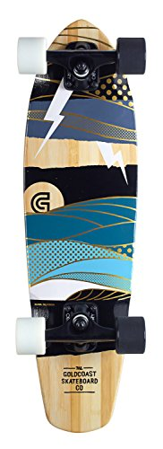 Gold Coast Unisex-Erwachsene Longboard Salvo, Braun-braun, One Size