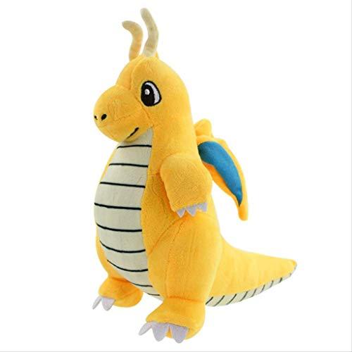JYDQM Juguete de Felpa - Permanente del dragón de Peluche de Juguete muñeca muñeca de Trapo niño del Regalo de cumpleaños de la Historieta (25 cm)
