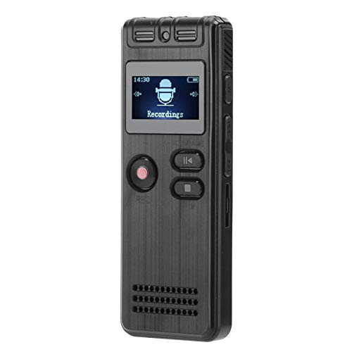 Mobile Digital Audio Recorder, WAV、MP3 20 Hours Power Supply Time 250mah Lithium Battery Voice Recorder with ABS