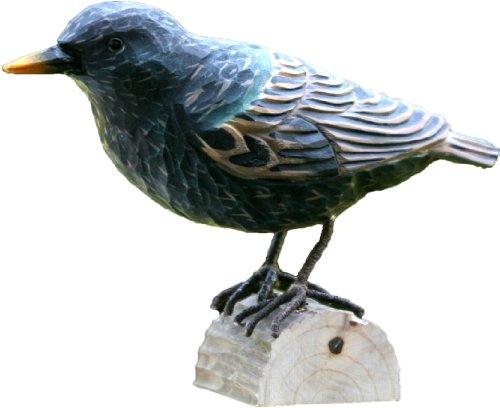 Wildlife Garden Dekovogel Holzvogel - Star - Handgeschnitzt