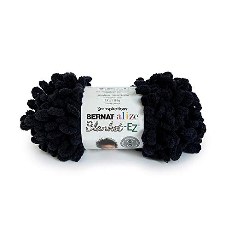 Bernat 16103737015 Alize Blanket-EZ Yarn, Black