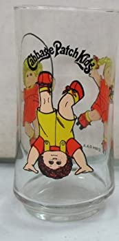 Vintage Cabbage Patch Kids Drinking Glass